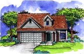 Plan Number 57501 - 1589 Square Feet