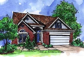 Country House Plan 57513 Elevation