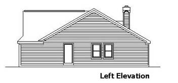 Country, One-Story, Ranch House Plan 57517 with 3 Beds, 2 Baths, 2 Car Garage Picture 1