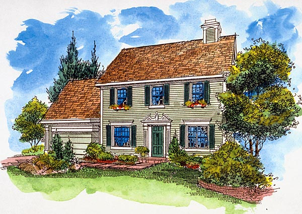Southern House Plan 57519 Elevation