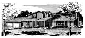 House Plan 57531 Elevation