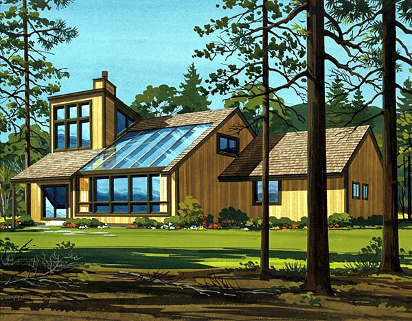 House Plan 57535 Elevation