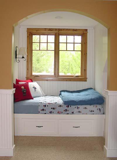"A bonus room ""bunk house."""