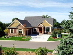 Cottage Country European Traditional House Plan 57562 Elevation