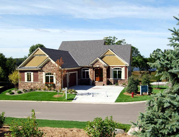 Cottage Country European Traditional House Plan 57562