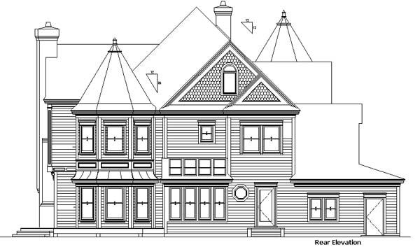 Victorian House Front Elevation : House plan at familyhomeplans