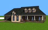 Plan Number 57707 - 1805 Square Feet