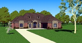 House Plan 57750 | Country Southern Style Plan with 1830 Sq Ft, 3 Bedrooms, 3 Bathrooms, 2 Car Garage Elevation