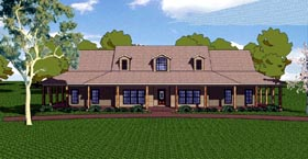 Southern , Florida , Craftsman , Country House Plan 57826 with 3 Beds, 3 Baths, 2 Car Garage Elevation