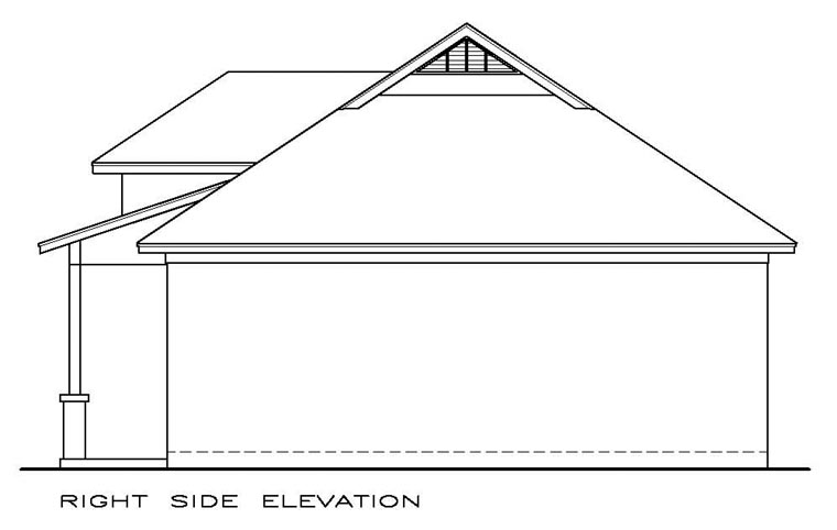 Cottage, Craftsman House Plan 57877 with 1 Beds, 2 Baths Picture 1