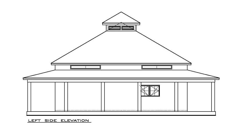Cottage, Florida, Southern House Plan 57895 with 2 Beds, 2 Baths Picture 1