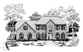 Plan Number 58001 - 2705 Square Feet