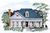 Plan Number 58007 - 1758 Square Feet