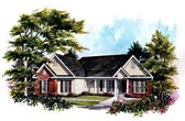Plan Number 58011 - 1477 Square Feet