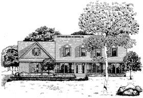 Cape Cod House Plan 58014 Elevation