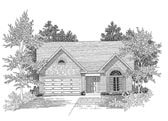 Plan Number 58015 - 1344 Square Feet