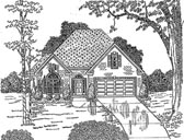Plan Number 58022 - 1843 Square Feet