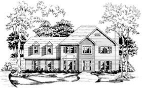 Cape Cod House Plan 58025 Elevation