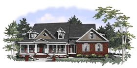 Southern House Plan 58030 Elevation