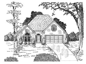 Plan Number 58042 - 1843 Square Feet