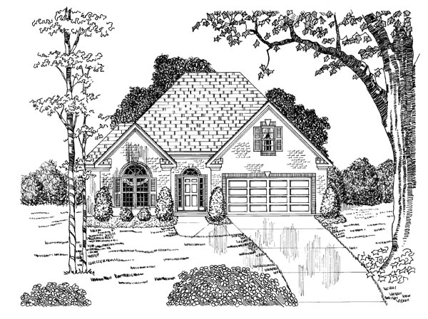 Traditional House Plan 58042 Elevation