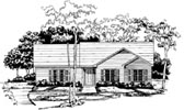 Plan Number 58047 - 1230 Square Feet