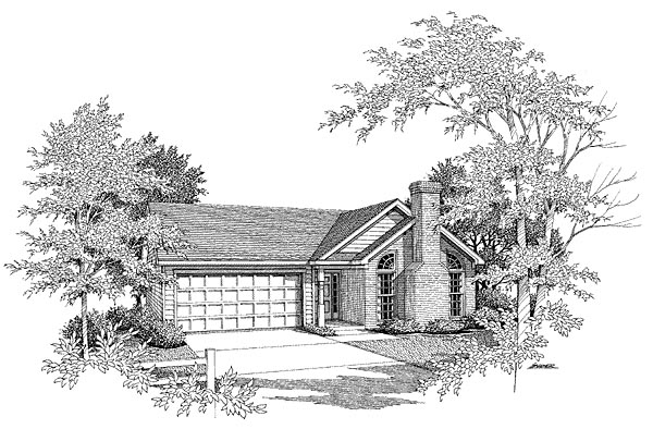Traditional House Plan 58048 Elevation