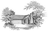 Plan Number 58048 - 1245 Square Feet