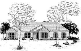 Plan Number 58059 - 1842 Square Feet