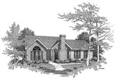 Plan Number 58062 - 1350 Square Feet