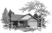 Plan Number 58063 - 1218 Square Feet