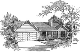 Traditional House Plan 58065 Elevation