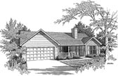 Plan Number 58065 - 1505 Square Feet