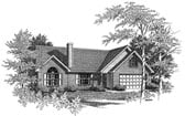 Plan Number 58066 - 1251 Square Feet