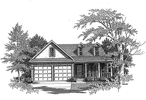 Traditional House Plan 58069 Elevation