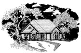 Plan Number 58070 - 1509 Square Feet