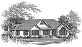 Plan Number 58072 - 1677 Square Feet