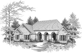 Plan Number 58073 - 2413 Square Feet