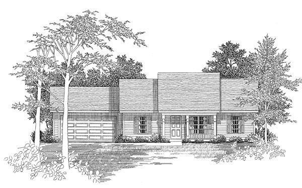 House Plan 58075