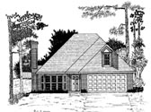Plan Number 58083 - 1189 Square Feet