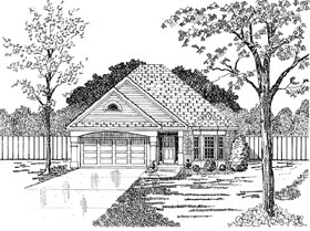 Plan Number 58085 - 1907 Square Feet