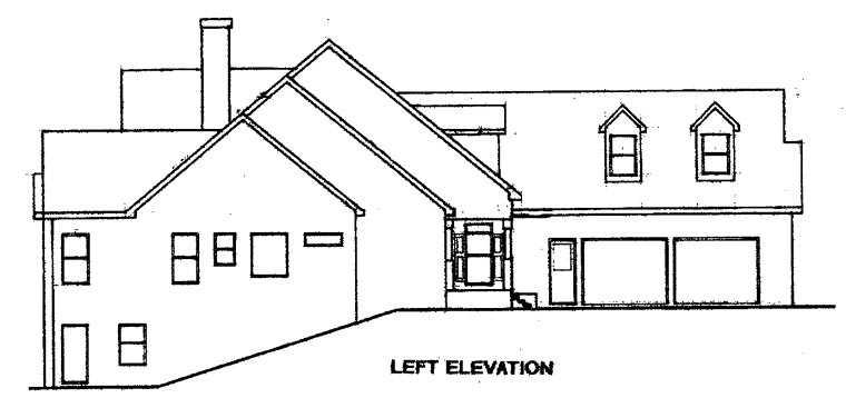 Cape Cod House Plan 58086 with 4 Beds, 4 Baths, 2 Car Garage Picture 1
