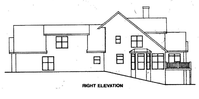 Cape Cod House Plan 58086 with 4 Beds, 4 Baths, 2 Car Garage Picture 2