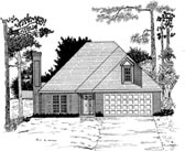 Plan Number 58088 - 1467 Square Feet