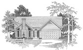 Plan Number 58089 - 1318 Square Feet