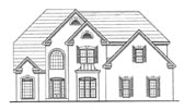 Plan Number 58092 - 3081 Square Feet