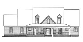 Cape Cod House Plan 58109 Elevation