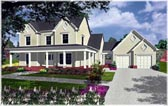 Plan Number 58111 - 2485 Square Feet