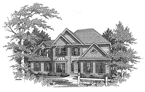 Traditional House Plan 58119 Elevation