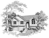 Plan Number 58123 - 1242 Square Feet